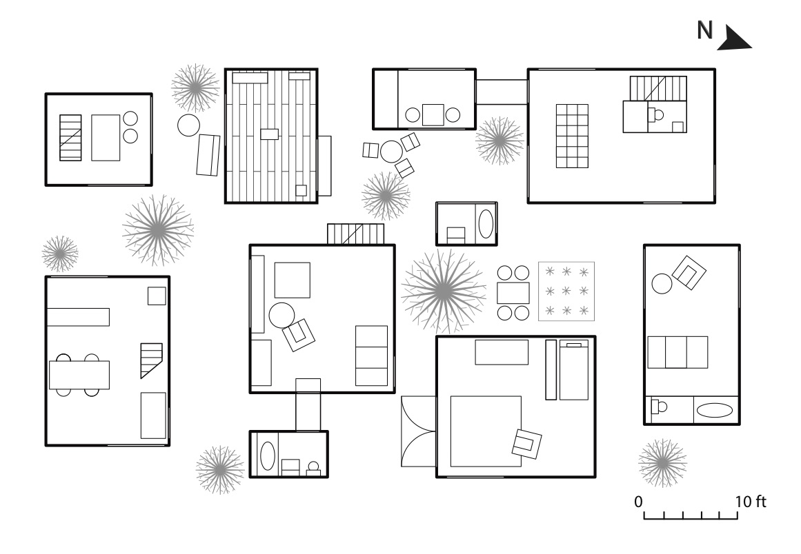 Sketch Floor Plans Assignment 2 Moriyama House Kiran Rai